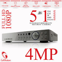 CCTV 16CH 8CH 4CH DVR Full HD 3MP 4MP 1080P P2P Remote View Home Security System