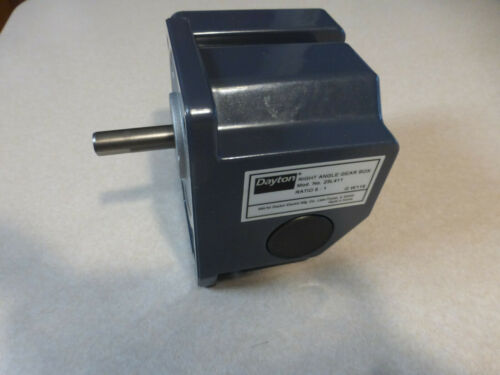 DAYTON CONTINUOUS SPEED REDUCER 23L411 5:1 RATIO GEAR BOX