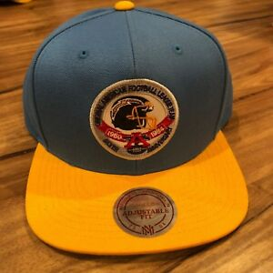 Mitchell-amp-Ness-NFL-San-Diego-Chargers-Snapback-Hat-Original-AFL-Team-Blue