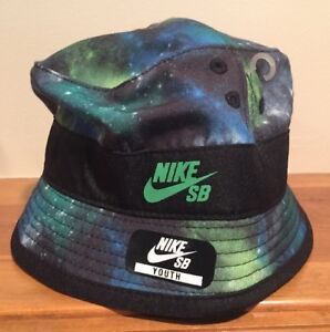 8346a590b Details about Rare Nike SB Galaxy Bucket Hat Cap Youth Size