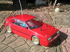 VW Corrado 1:10 RC Car Body Shell + Decals by Kamtec Tamiya Repro Lexan