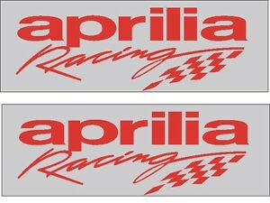 Aprilia racing decal x 2, 12 YEAR HIGH SPEC VINYL'S.