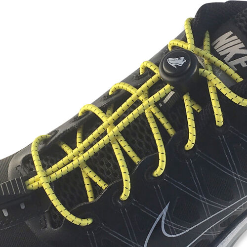 """48/"""" LaceNLock Elastic NoTie Laces Sport Shoe Lock For Running Jogging Triathlon"""