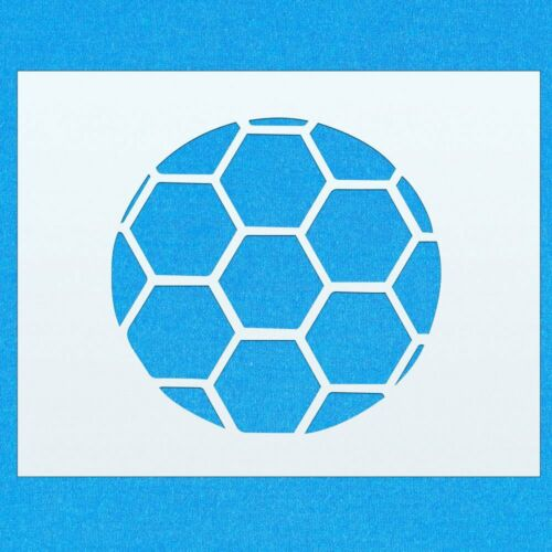 Football Soccer Sport Game Mylar Airbrush Painting Wall Art Crafts Stencil