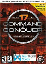 Command & Conquer Ultimate Collection PC 17 games [BRAND NEW, GLOBAL ORIGIN KEY]