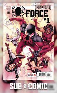 SPIDER-FORCE-1-MARVEL-2018-1st-Print-COMIC