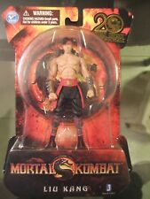 "MORTAL KOMBAT MK9 20TH ANNIVERSARY "" LIU KANG JAZWARES ACTION FIGURE Toy"