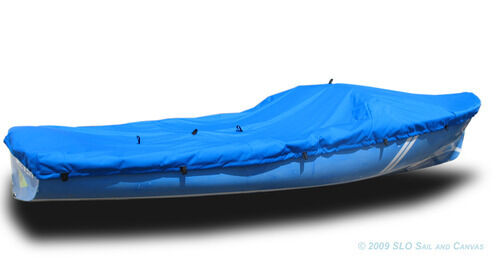 Blue Polyester DaySailer Sailboat DS Boat Deck Cover
