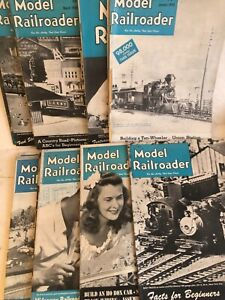 1948 Model Railroader Magazines - All 12 Issues