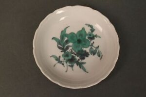 Nymphenburg-Porcelain-Saucer-Coasters-Bowl-Small-Bowl-Flower-Green-Service