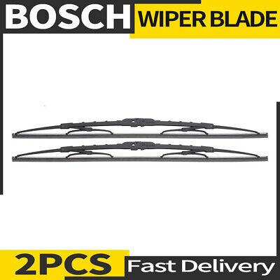 Front Windshield Premium All Season Wiper Blades Set for NISSAN 200SX 1984-1986