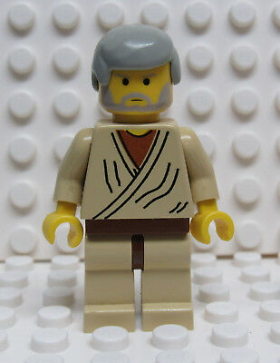 LEGO Star Wars Minifigure Jedi Obi-Wan Kenobi 7110 from year 1990