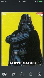 Topps Star Wars Digital Card Trader Gold Classic Art Darth Maul Series 2 Insert