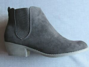 LIPSY ELASTIC GUSSET LADIES ANKLE BOOTS
