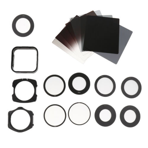 21Pcs Graduated Grey ND Neutral Density Filter Kit for Canon Sony Nikon Lens