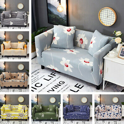Universal Slipcovers Stretch Elastic Couch Settee Sofa Cover 1-4 Seater Easy fit