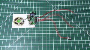 5-25pcs-Diy-Kit-200sec-Sensor-De-Luz-2-Botones-Mp3-dispositivo-Voz-Sonido-De-La-Musica