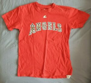 Los Angeles Angels of Anaheim Majestic Youth T-Shirt 100/% Cotton
