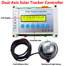 Dual Axis Solar Tracking Tracker LCD Controller for Solar Panel