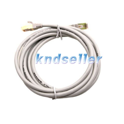 15m 45ft CAT 7 SSTP LAN Direct Ethernet Cable Network Patch Shielded 10Gbps