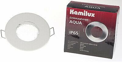Einbauleuchte LED Badezimmer Dusche Spot Aqua IP65 inkl GU10 5W 5 Watt LM 230V
