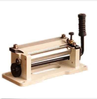 """Manual de 6/"""" pulgadas mango de cuero flor de piel lanar cáscara de cuero herramientas máquina de piel de pala de bricolaje"""
