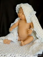 "NIB Diana Newborn Baby * Real Girl * Made in Spain * 21"" All Vinyl Doll"