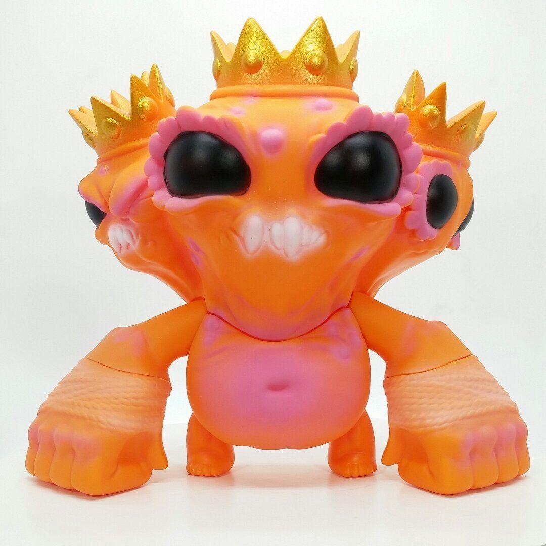 Triple Crown Monstruo Pintado Naranja Chris ryniak Edición Limitada De Juguete