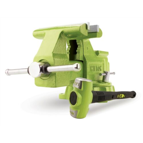 """B.A.S.H Special Edition 6.5/"""" Utility Bench Vise and FREE 4 lb Sledge Hammer Co"""