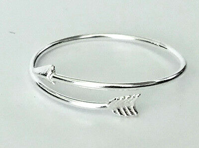 7 8 6 5 10 Thin V-Shaped Band 925 Sterling Silver Ring Size 4 9