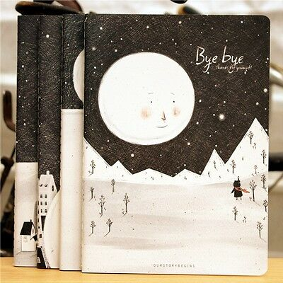 """Bye Bye"" Exercise Book Pack of 4 Lined Notebook Diary Notepad Study Journal"