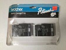 Brother P Touch Tape Cassette Pack Of Two 12 Inch Black On White