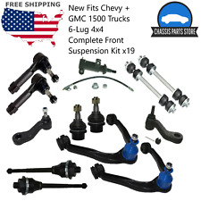 GMC 1500 Trucks 6-Lug 4x4 Complete Front Suspension Kit x13 New Fits Chevy