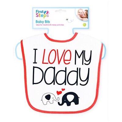 I love my daddy-baby bib