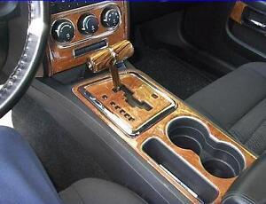 Dodge Challenger Sxt R T Srt Interior Burl Wood Dash Trim Kit Set 2015 2016 Ebay