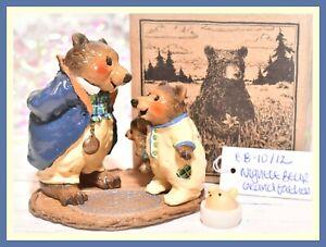 ❤️Wee Forest Folk BB-10 BB-12 Nightie Grandfather Bear SPECIAL FairyTales WFF❤️