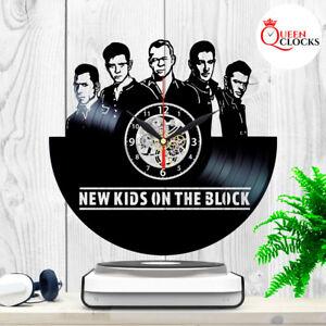 New-Kids-on-the-Block-NKOTB-Vinyl-Record-LP-Wall-Clock-Art-Decor-Best-Gift-Idea