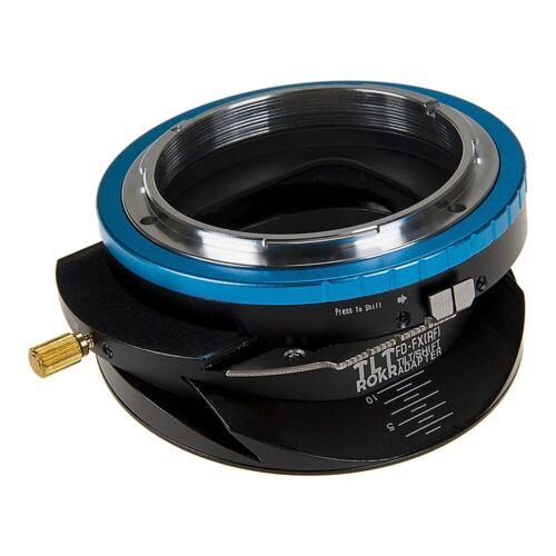 Fotodiox pro TLT rokr-Tilt//Shift adaptador Canon FD lens to Fujifilm Fuji X Camera