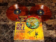 Warren Haynes Signed Gov't Mule Limited Edition Orange Vinyl 2LP Allman Brothers