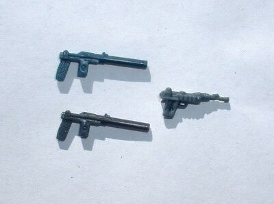 3 NICE REPRO Blaster Weapons LOT 1977 Leia Hoth Bespin ROTJ Vintage Star Wars