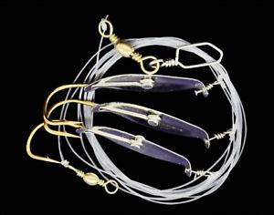 Fliegenfischen Reizwurm #10 1St Fliegenbinden Tungstenperle Gold
