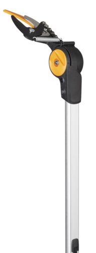 Nachfolger UP86 Länge 2,4-4m Fiskars PowerGear Teleskop-Schneidgiraffe UPX86