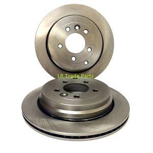 RANGE-ROVER-SPORT-TDV6-REAR-BRAKE-DISCS-X2-PAIR-DISC-SET-2005-2009-SDB000636