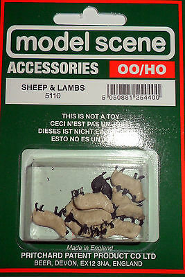 New Model Scene Accessories SHEEP & LAMBS Ref.5110