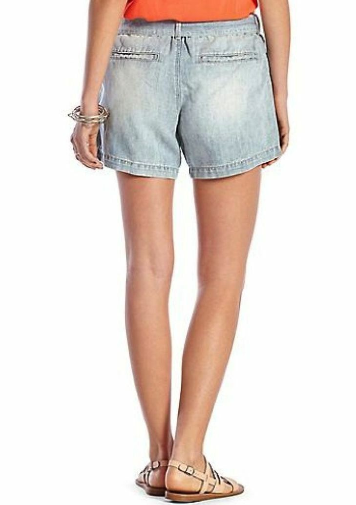 Lucky Lucky Lucky Brand - Donna XS - Nuova con Etichetta - Blu Misto Lino Jeans 23eddf