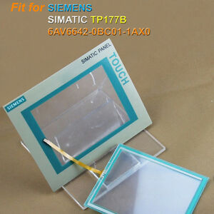 New touch screen glass for Siemens 6AV6642-0BC01-1AX0 6AV6 642-0BC01-1AX0