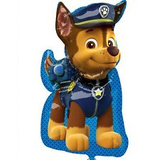 """Nickelodeon Paw Patrol Chase Foil Mylar Balloon Children's Party 34"""""""