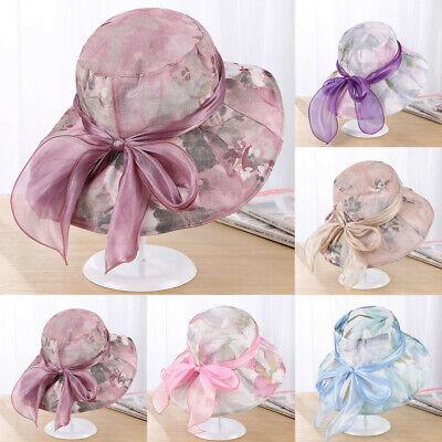 1PC Women/'s Fascinators Kentucky Derby Church Dress Wedding Floral Tea Party Hat