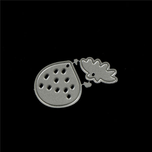 Strawberry Metal Cutting Dies Stencils for DIY Scrapbooking Album Cards Makin/_WK