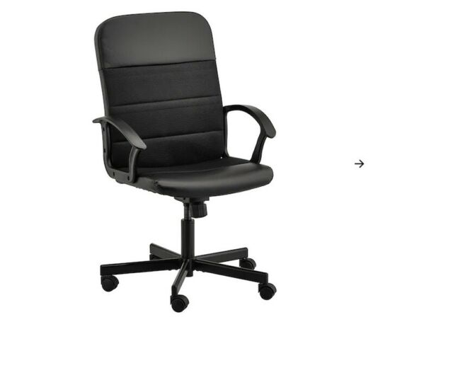 Ikea Renberget Sedia da Ufficio Bomstad Nero